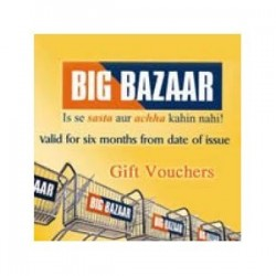 Big Bazaar - Rs.2500/-