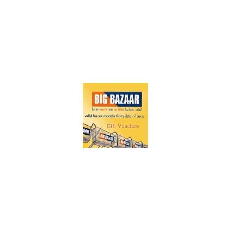 Big Bazaar - Rs.2500/-