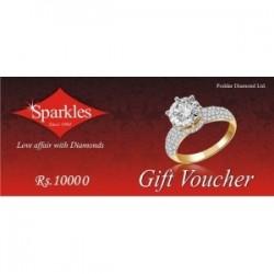 Sparkles Diamond Jewellery  Rs.10000