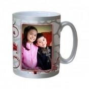 Silver Photo Mug