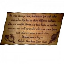 "Wooden Plaque 6 Size: 12""x6"""