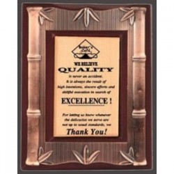 "Wooden Frame 3 Size:9""x7"""