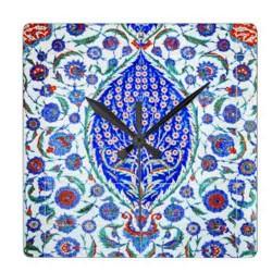 Tiles Table Clock 10*10 cm