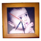 Tiles Table Clock 15*15 cm