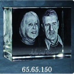 3D Crystal Image Size: 65*65*150