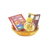 Delightful Yummy Chocolates Basket