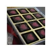 Chocolate hearts-12 Pc