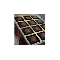 Chocolate hearts-12 Pc