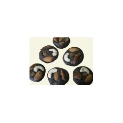 Chocolate Mendiants - 15 pcs