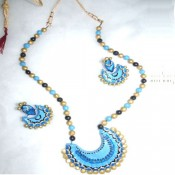 Light blue Terracotta Jewel set