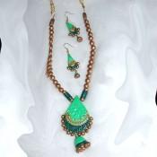 Light Green Terracotta Jewel