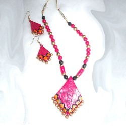Pink Terracotta Jewel