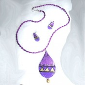Lavendar Terracotta Jewel