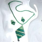 Green Terracotta Jewel