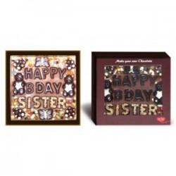 Happy Birthday sister chocolates
