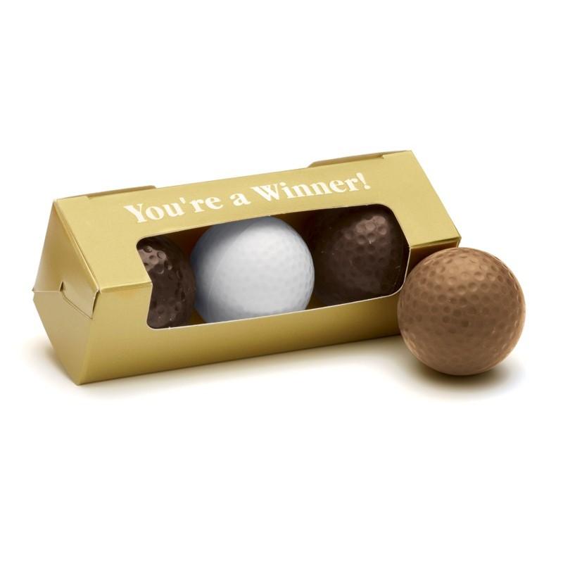 Chocolate Golf Balls - Set of 4