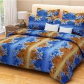 Blue floral Bed Sheet