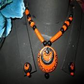 Orange terracotta Jewel