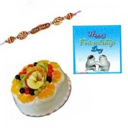Frndship day Mixed Fruit Cake - 1Kg