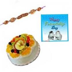 Frndship day Mixed Fruit Cake - 1Kg