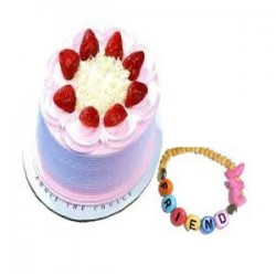 Strawberry Cake - 1kg