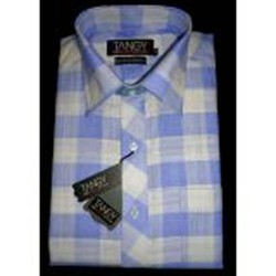 Blue and White Checks Full Tangy Shirt
