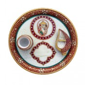 Marble Puja Thali