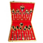 24ct Gold Plated Cutlery Set