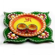 Pooja Thali Flower Design