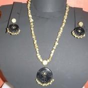 Adorable Golden Terracotta jewel