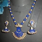 Charming Blue Terracotta jewel