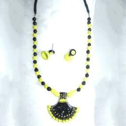 Nice  Yellow Terracotta jewel