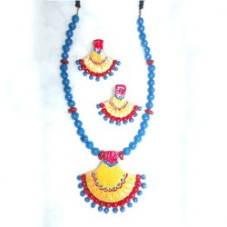 Outstanding Blue Terracotta jewel