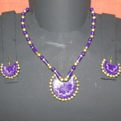 Pleasant Violet Terracotta jewel