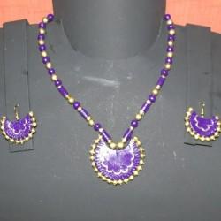 Pleasant Violet Terracotta jewel