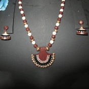 Charming Brown Terracotta jewel