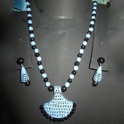 Beautiful Blue Terracotta jewel