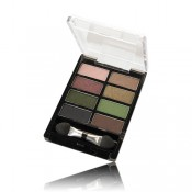 Pure Colour Eye Shadow Palette - Sand & Green 4.8g