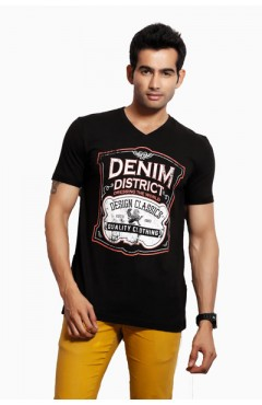 Design Classics Black Men's Tshirt