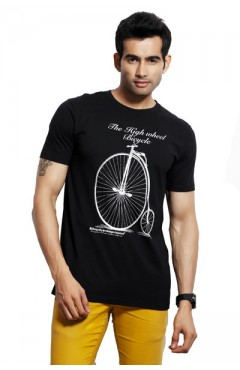 Design Classics Black Men's Tshirt