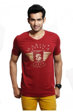 Design Classics Red Men's Tshirt