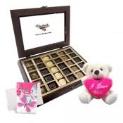 Sweet Chocolates with Love Teddy