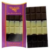 Belgian Tri Chocolate Bar