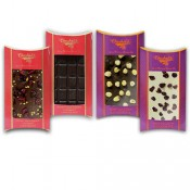 Fiery, Crunchy and Zesty Belgian Chocolate Bars Combo