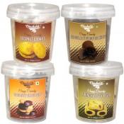 Chocolate Fudge & Coconut Cookies - 4 Combo Pack