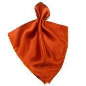 OPKTSQ 2 ORANGE ORANGE Fancy Pocket Silk
