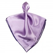 OPKTSQ 2 PURPLE LAVENDER Fancy Pocket Silk