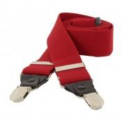 Men's Suspenders OSPND 01 RED