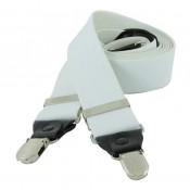 Men's Suspenders OSPND 01 WHITE