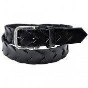 Leather Belt Oblt-A-1980-Blk1